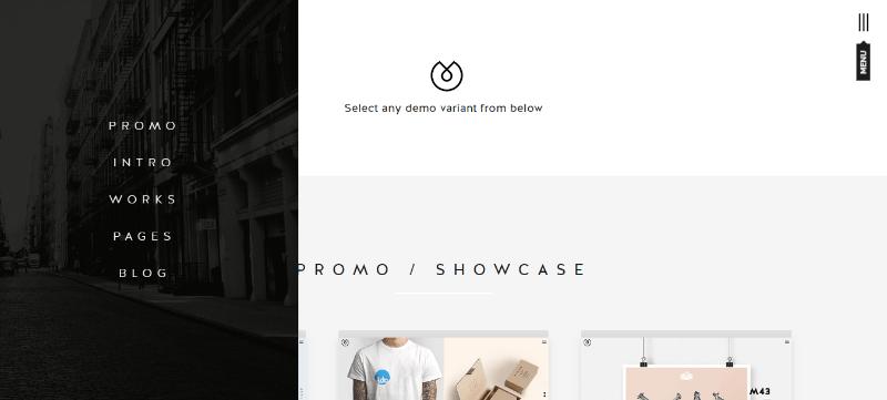 Uber themes wordpress create website agência de fotógrafos criativos