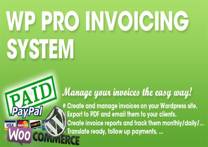 10 plugins woocommerce pour gnrer des factures pdf blogpascher 7 wp pro invoicing system fandeluxe Choice Image