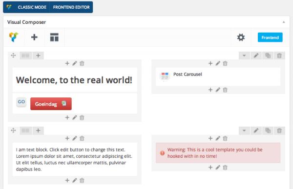 edition visual composer plugin WordPress