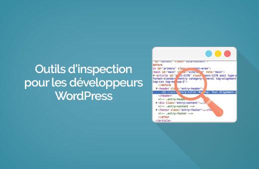 Inspeksi elemen WordPress