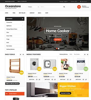 OceanStore – Un Thème WordPress Pour Site Web De ECommerce