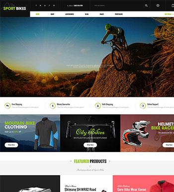 Sportbike – Un Thème WordPress Pour Site Web De ECommerce
