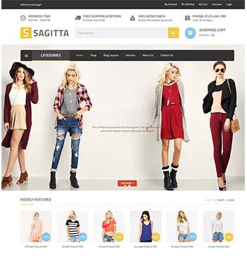 VG Sagitta – Un Thème WordPress Poue Web Dr Site ECommerce
