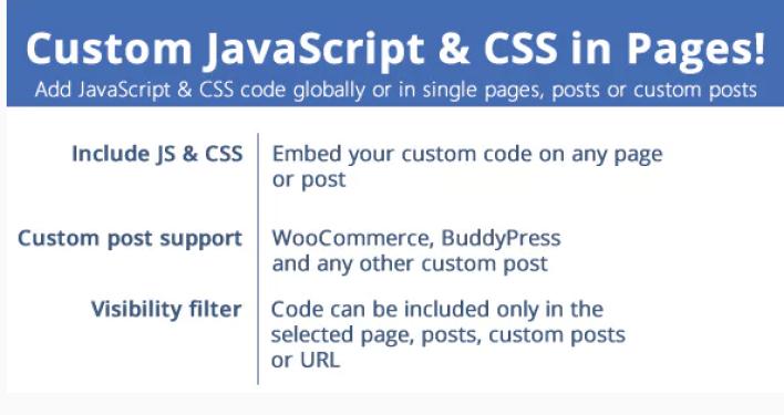 Custom javascript css in pages plugin wordpress e1558356028853