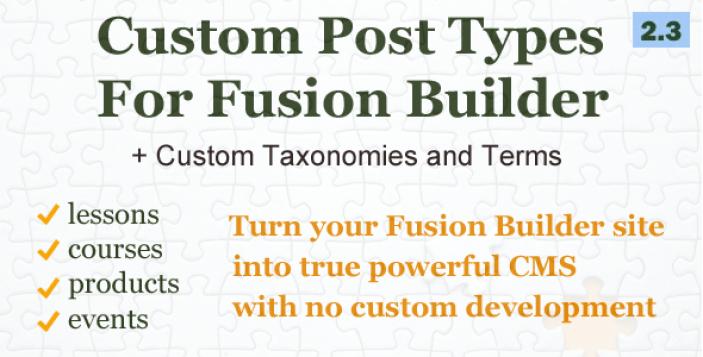 özel sonrası tip ve-taksonomilerin-için-füzyon oluşturucu