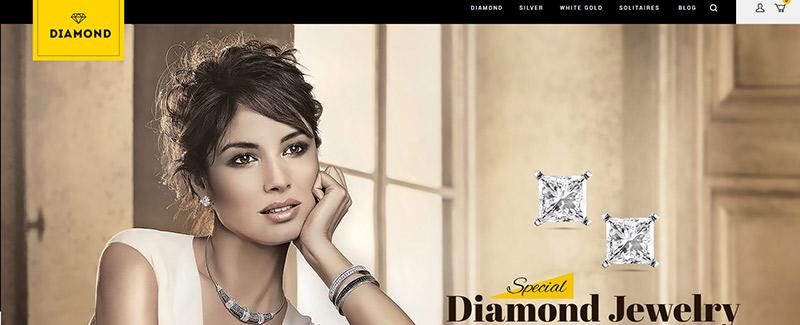 Diamond themes prestashop site e commerce mode blogpascher