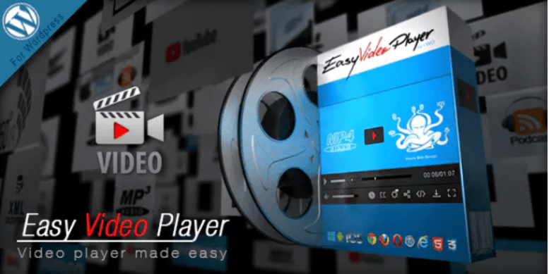 meilleurs plugins WordPress - Easy video player