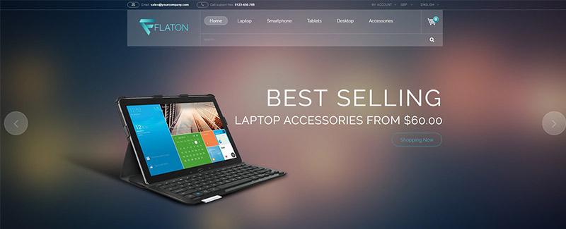 Flaton themes prestashop vendre produits electroniques blogpascher