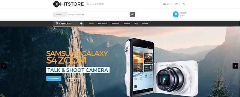 hitstore-тема-PrestaShop-продажа-продукция-электронно-blogpascher