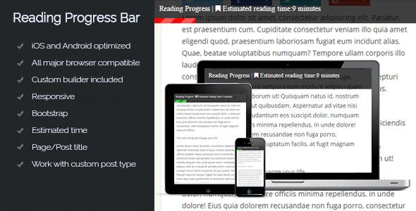 10 WordPress plugins para añadir una barra de progreso | BlogPasCher