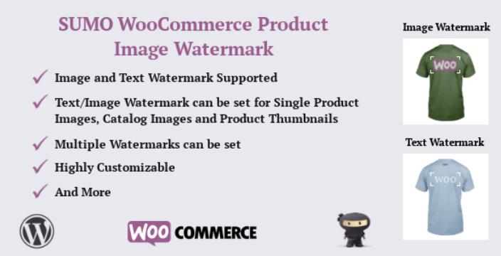 Водяной знак изображения продукта Sumo woocommerce