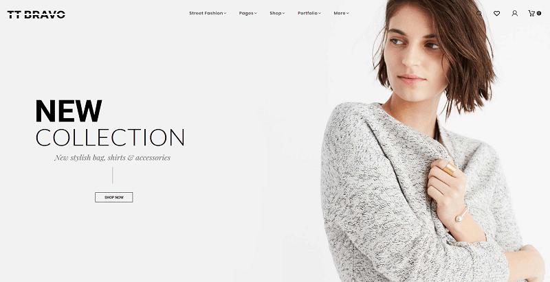d34153d0 Hans utseende er veldig profesjonell, er veldig minimalistisk og lar  besøkende fokusere på produktene dine. Det er et perfekt tema for salg av  kvinnemote, ...