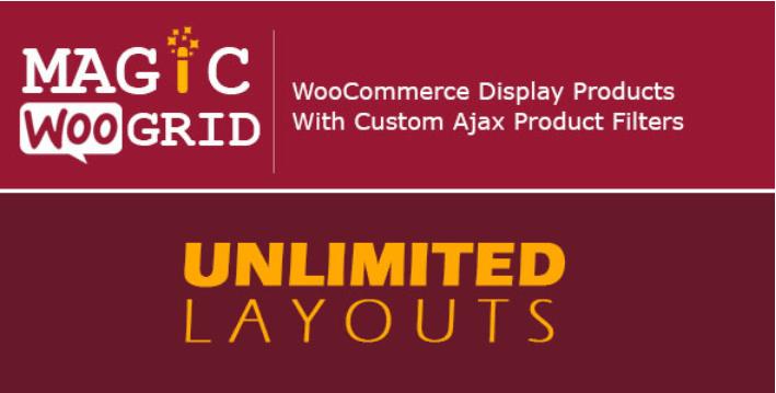 meilleurs plugins WordPress de recherche - Woocommerce grid display product ajax filter
