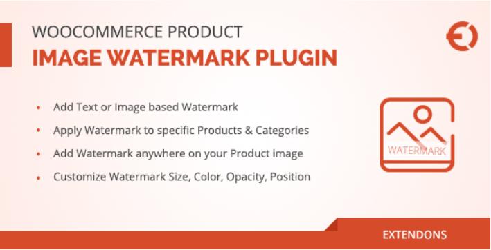 Плагин водяных знаков изображения продукта Woocommerce