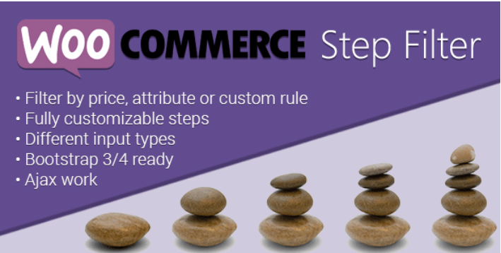 Woocommerce step filter
