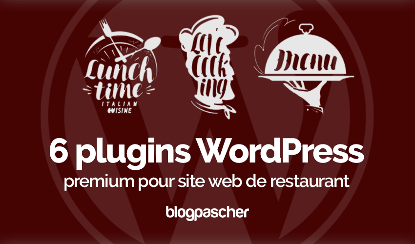 Plugin Wordpress Site Web Restaurant