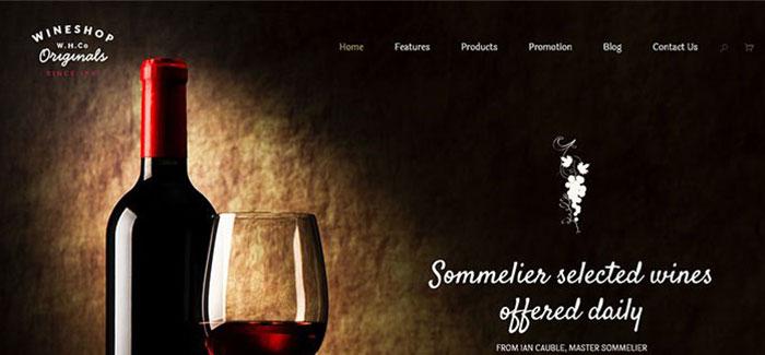 10 Wordpress-Themes für Winzer und Restaurant | BlogPasCher
