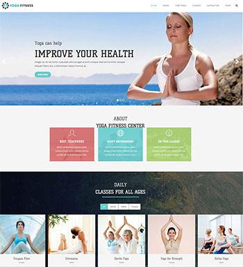 Yoga – Un Thème WordPress Pour Club De Yoga
