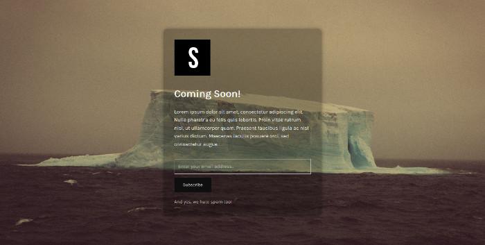 plugins de WordPress 5 para crear páginas Próximamente | BlogPasCher