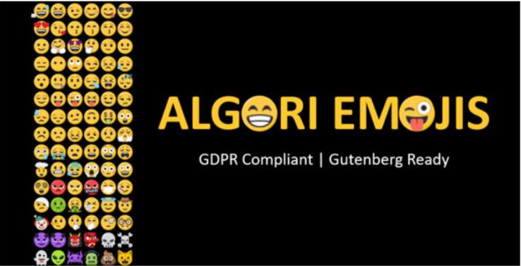 ajouter des émoticônes et emojis - Algori emojis for wordpress gutenberg