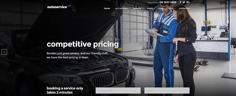 10 thèmes WordPress pour site internet de Mécanicien Automobile