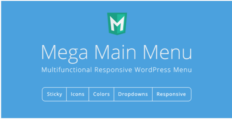 Mega main menu wordpress menu plugin