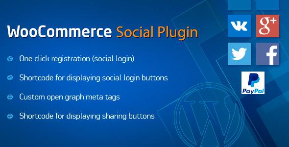plug-in WooCommerce-sociais
