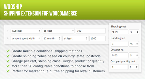 10 WooCommerce plugins to calculate package delivery fees | BlogPasCher