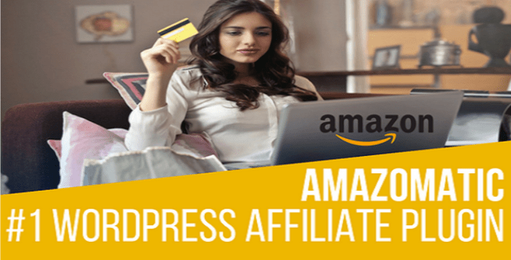 Amazomatic amazon affiliate post importing money generator plugin for wordpress
