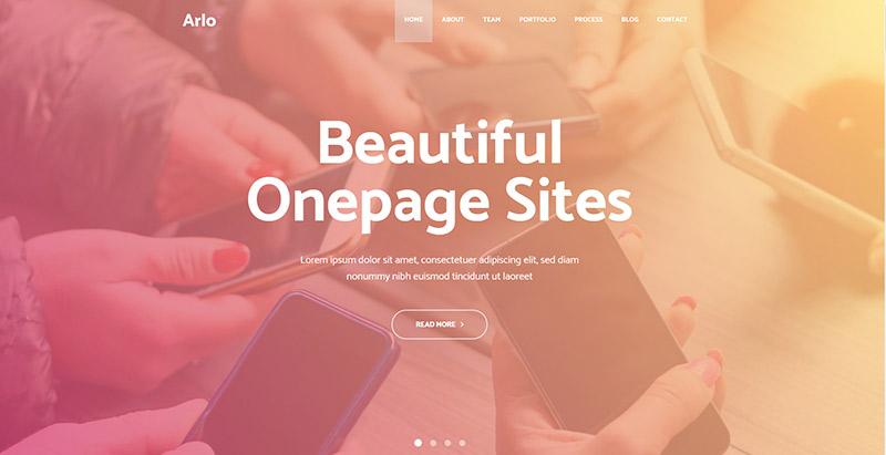 arlo-themes-wordpress-creer-site-web-applications-mobiles