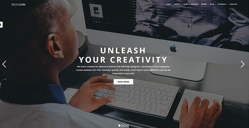 10 WordPress temas para crear la página web de una PYME | BlogPasCher