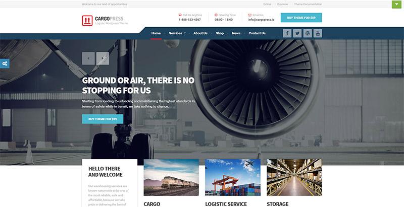 cargopress-themes-wordpress-creer-site-internet-entreprise-logistique-transport