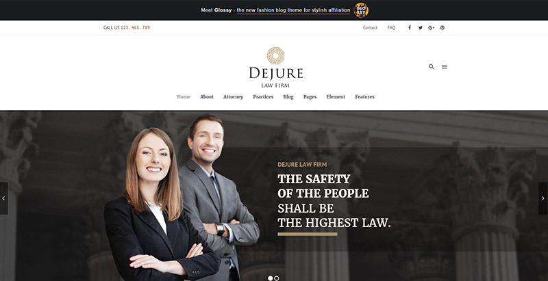 dejure-themes-wordpress-creer-site-internet-cabinet-avocat-juriste-procureur-juge