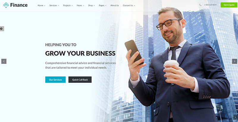 finance-themes-wordpress-creer-site-internet-entreprise-assurance-agence