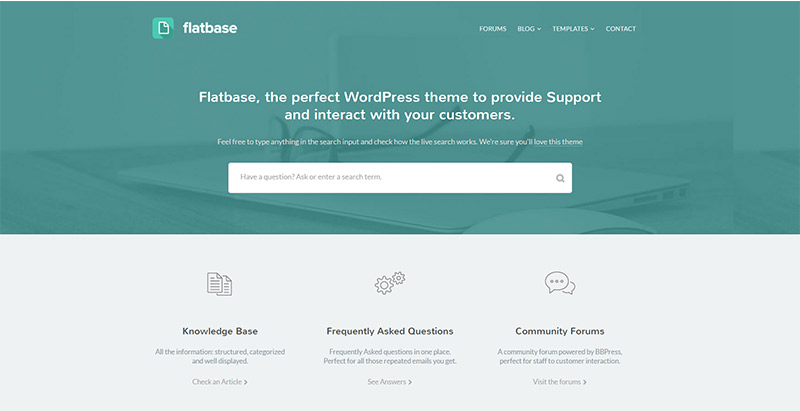 flatbase-themes-wordpress-creer-site-wiki-support-base-connaissance-faq