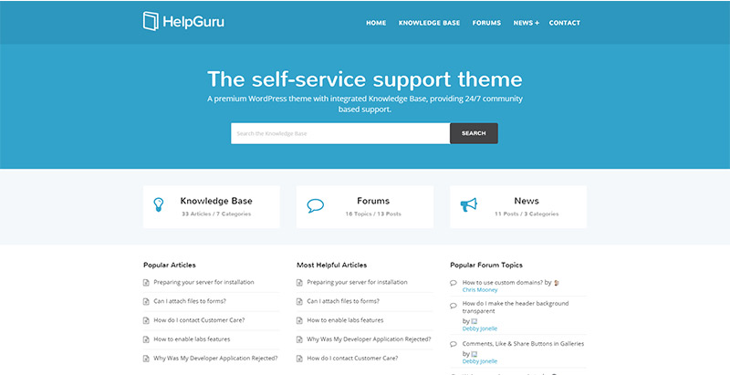 helpguru-themes-wordpress-creer-site-wiki-support-base-connaissance-faq