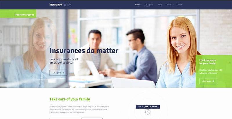 Versicherungs-Wordpress-Themen-create-Site-Internet-Business-Versicherungsagentur