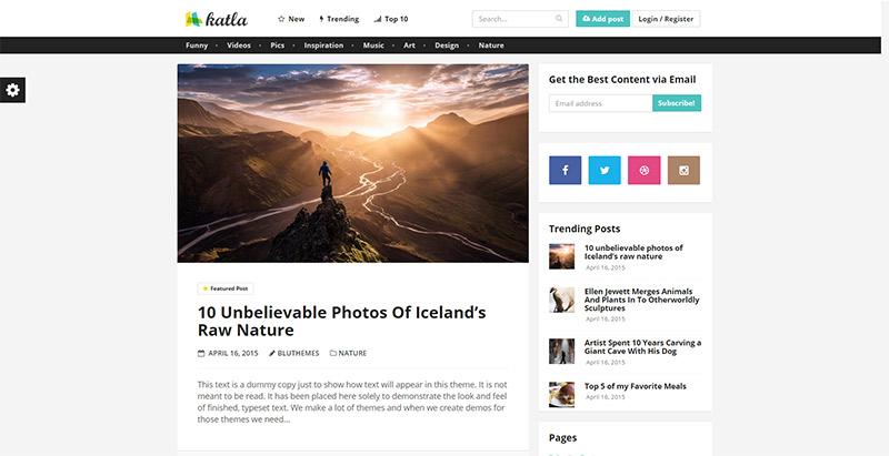 katla-themes-wordpress-creer-site-internet-partage-contenu