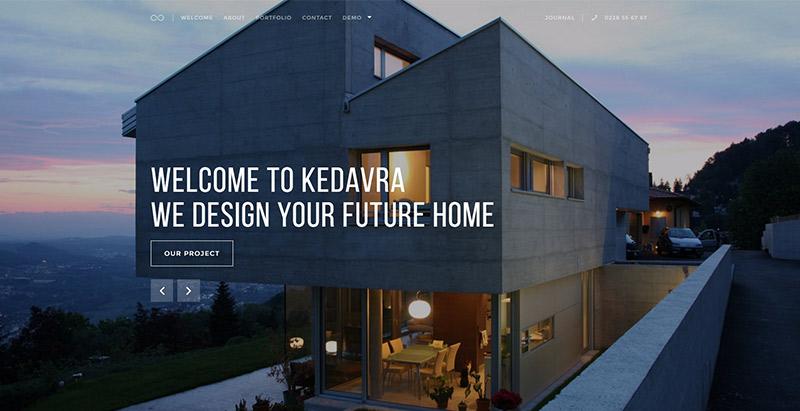 Kedavra Themes Wordpress Propres Minimalistes Creer Site Web
