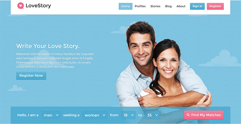 Inspiration fГјr die Dating-Website