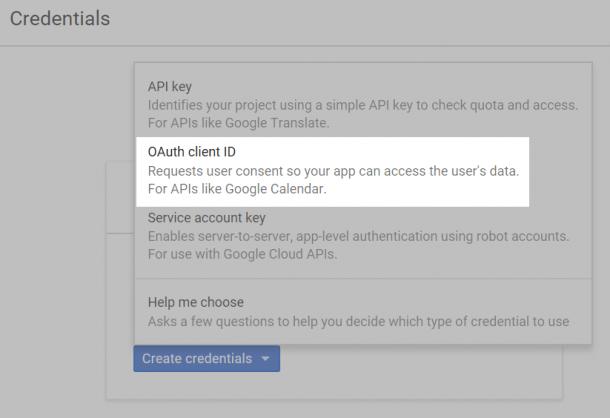 OAuth-клиент-ID-сервис-Login-Google