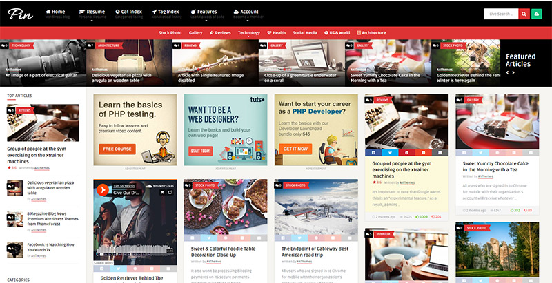 pin-themes-wordpress-creer-site-internet-partage-contenu