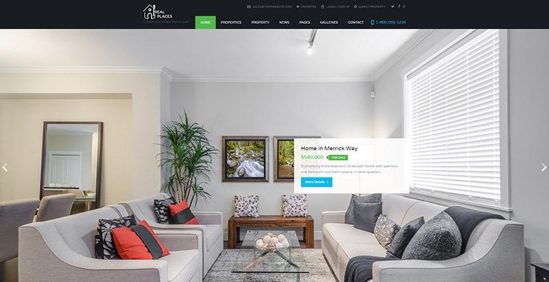 real-places-themes-wordpress-creer-site-web-louer-vendre-maisons-villa-appartement