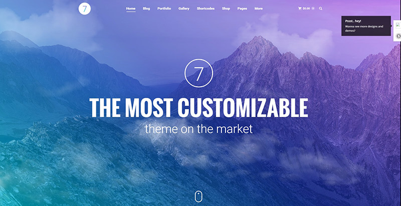 The710 themes wordpress entierement personnalisables polyvalents