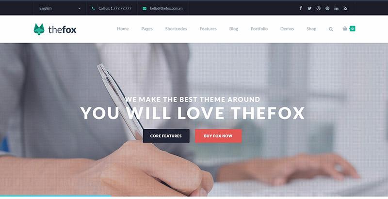 10 temas de WordPress para el sitio web de la pequeña empresa, y las ...