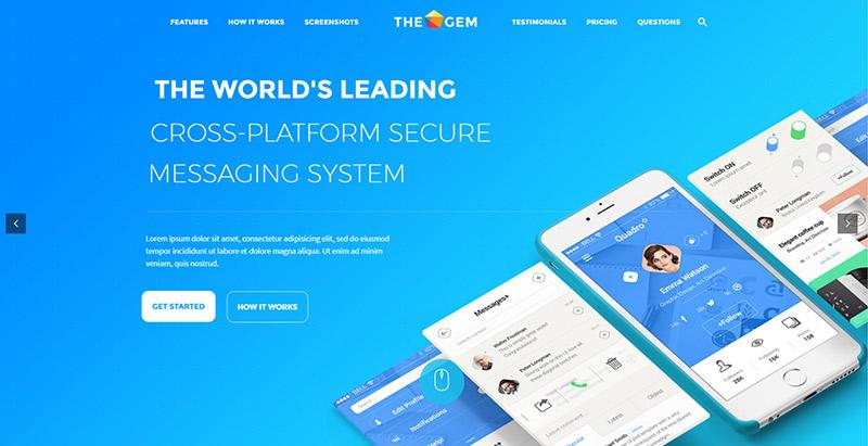 10 thèmes WordPress pour créer un site Web d'applications mobiles
