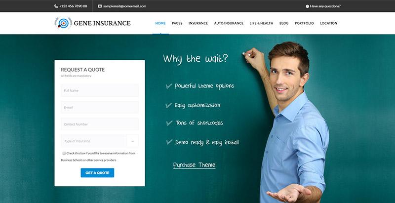 Veda-Versicherung-Wordpress-Themen-create-Site-Internet-Business-Versicherungsagentur