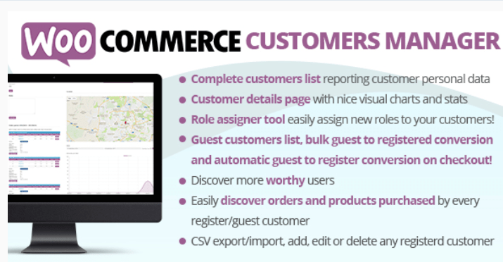 booster vos ventes - Woocommerce customers manager