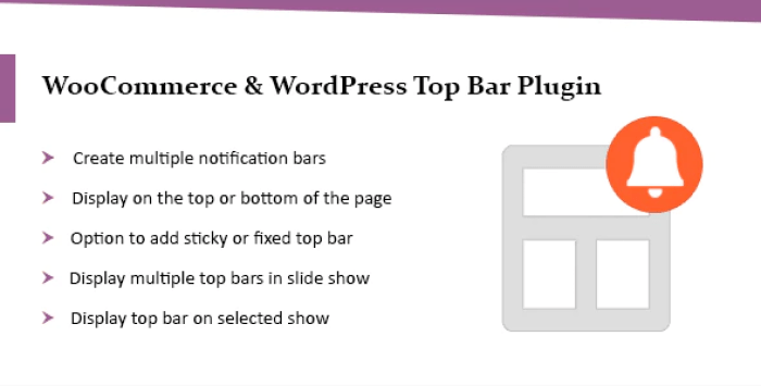 Wordpress top bar plugin woocommerce top bar plugin wordpress 4