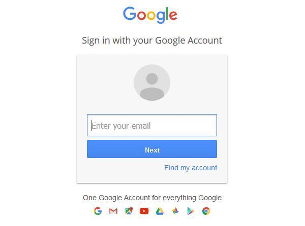 conexão-a-google-conta
